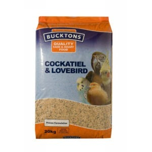 Bucktons Cockatiel & Lovebird Mix 20kg