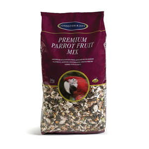 Johnston & Jeff  Premium Parrot Fruit Mix 12.75 kg