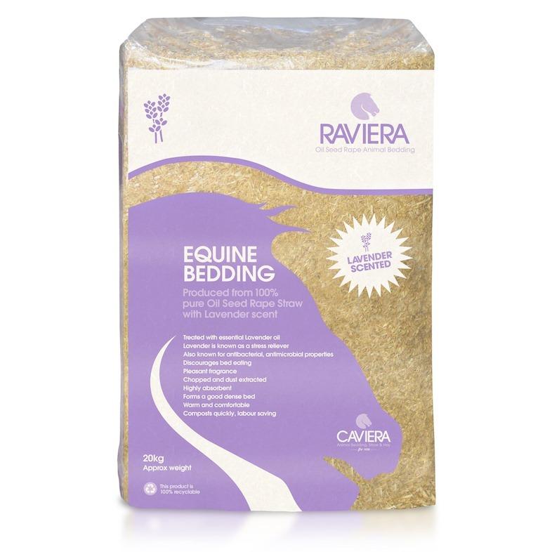 Caviera Raviera Rape Straw Bedding 20kg